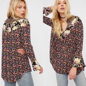 free people • wildflowers tunic top